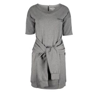 Triple Five Soul Medium Heather Gray Shift Dress